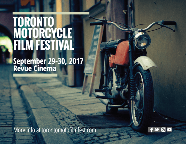 Don't forget: Toronto Motorcycle Film Festival runs this weekend