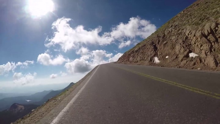 Here's Canadian Shane Scott's Pikes Peak run