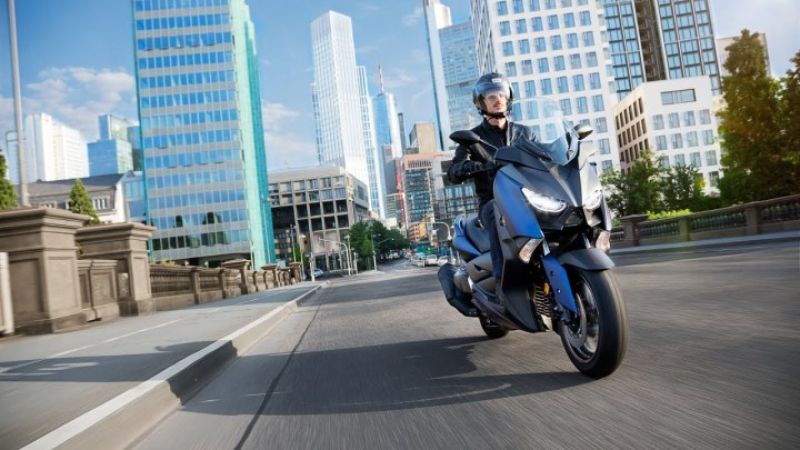 Euro fun only: The Yamaha X-MAX 400