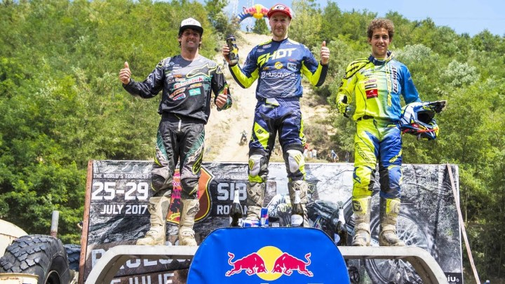 Graham Jarvis triumphs at Red Bull Romaniacs
