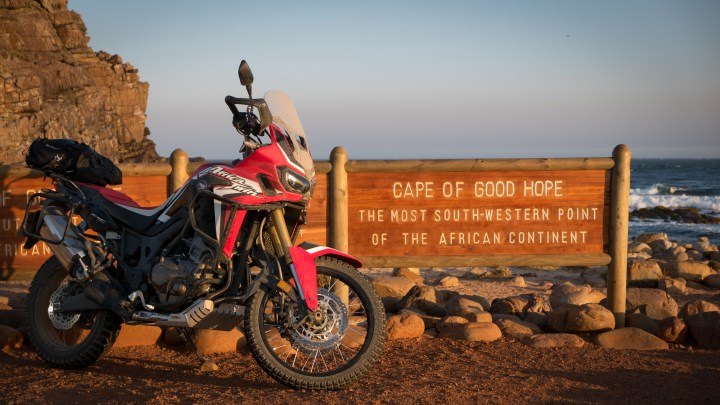 South Africa on an Africa Twin
