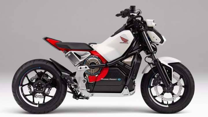 Honda developing a self-balancing electric bike
