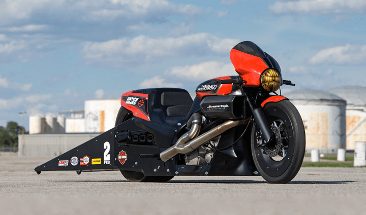 Harley-Davidson Street Rod-based dragster seeing success