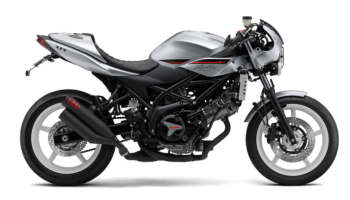 Suzuki SV650X: A cafe racer built out of the parts bin