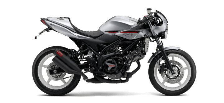 Suzuki lists price for 2018 SV650X neo-retro