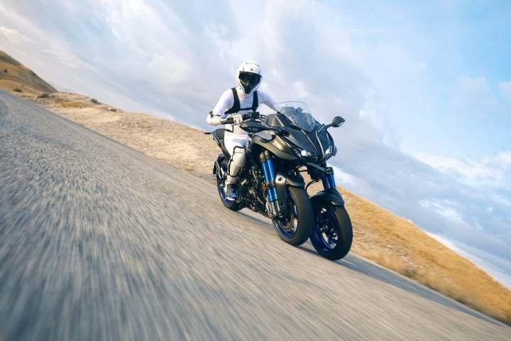 Finally, some details on the Yamaha Niken three-wheeler
