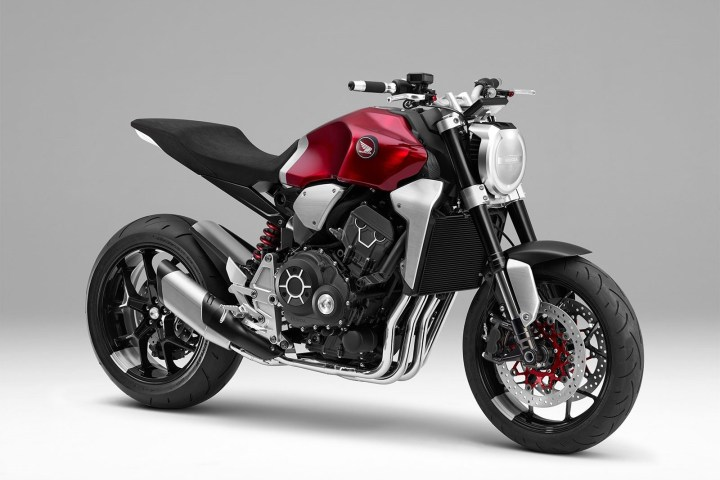 Cafe Racer 2049: The Honda Neo Sports Cafe concept debuts
