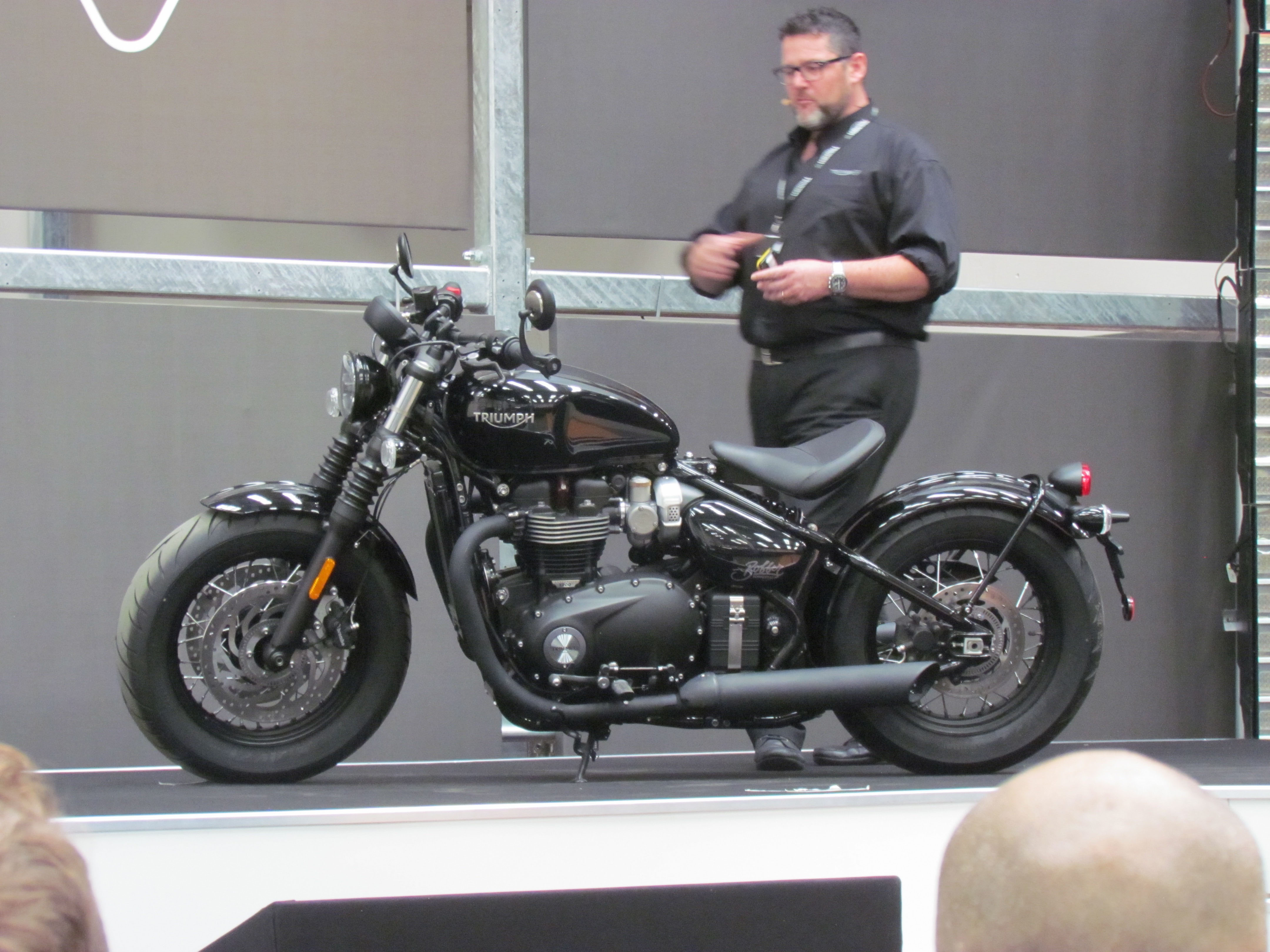 Revealed Triumph 2018 Bobber Black And Speedmaster