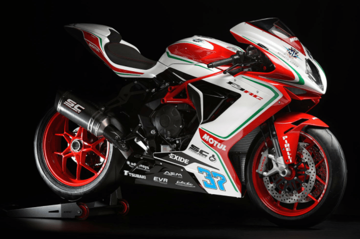 MV Agusta has minor updates for RC line
