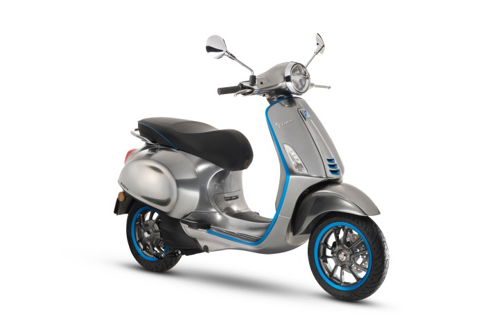 Vespa Elettrica: The battery-powered future of the step-through