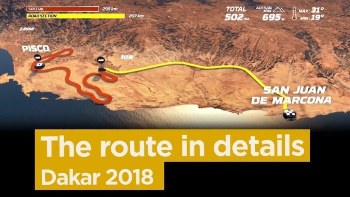 Video: The 2018 Dakar route, in detail