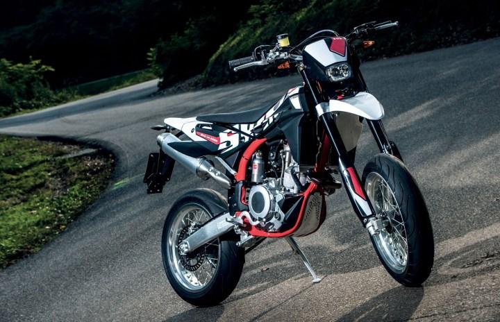 SWM's 500 cc models now street-legal in Canada