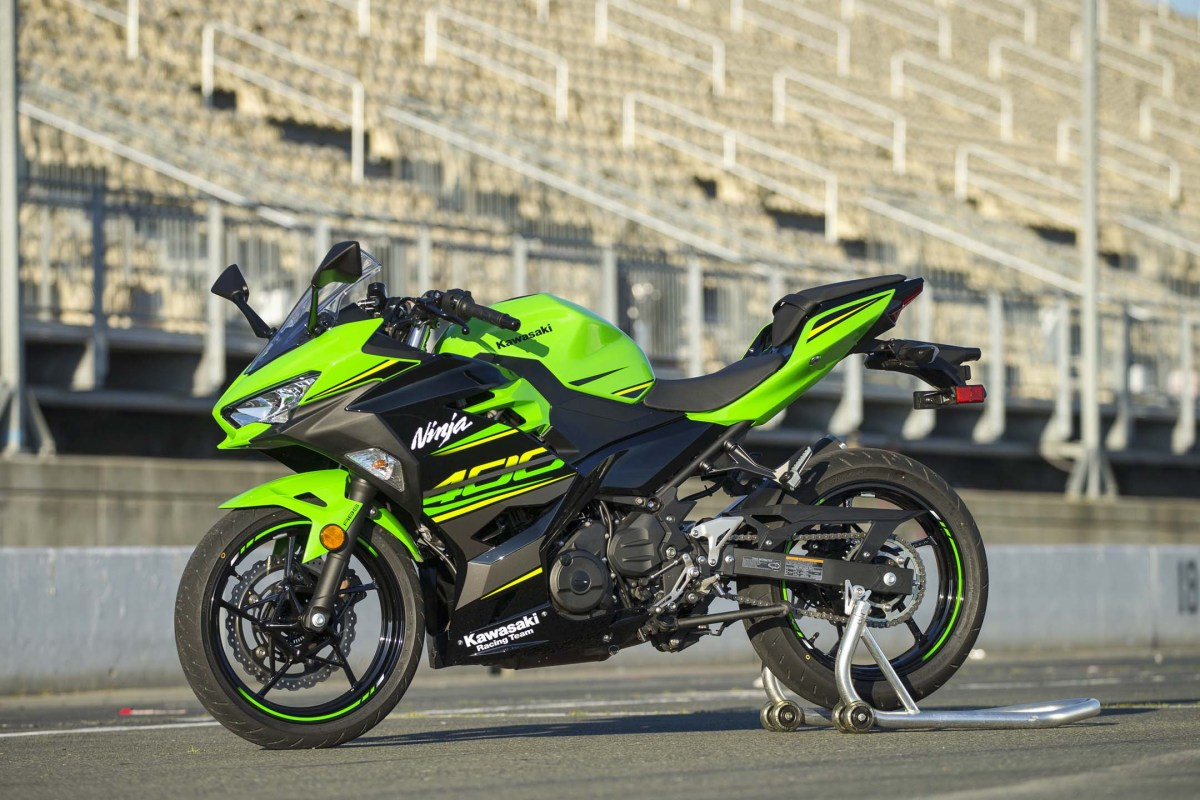 CSBK approves Ninja 400 for Amateur Lightweight Sport Bike class