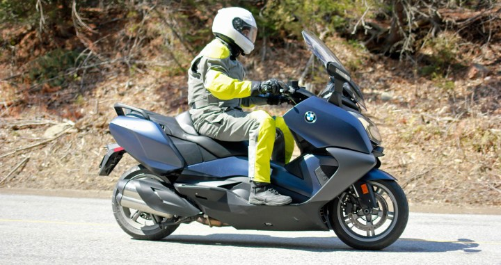 Zac vs. Luxury: the BMW C650 GT review