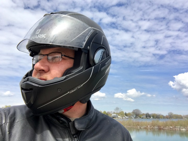 Gear review: Shark Evoline Series 3 Pro Carbon helmet