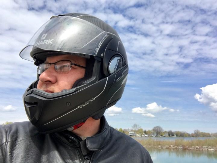 Gear review: Shark Evoline Series 3 Pro Carbon helmet