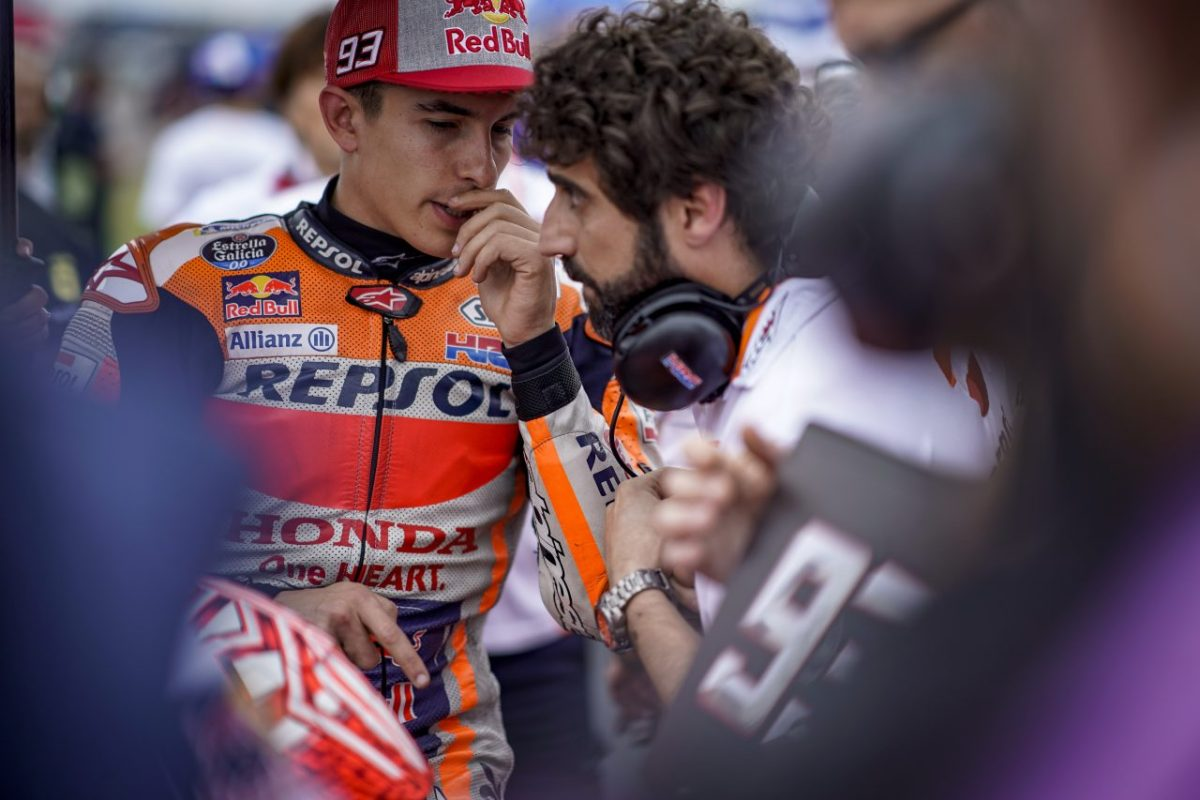 It's time to deal with Marc Marquez