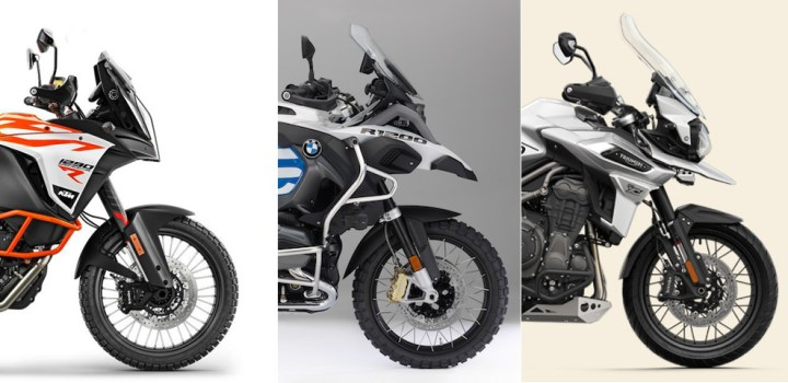 Showroom showdown: RTW ADV bikes