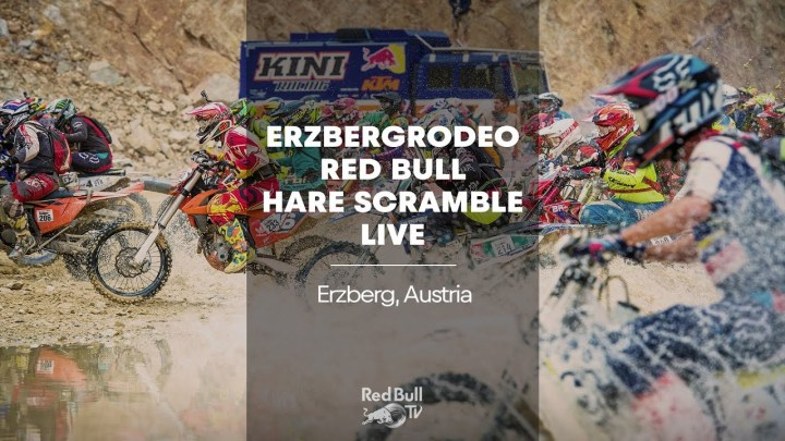Aaaaaand here's your Erzbergrodeo coverage!
