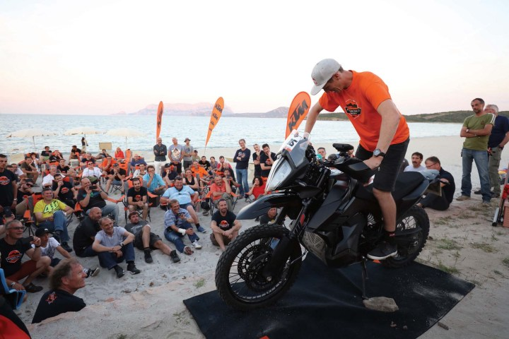 KTM lets public ride new 790 Adventure