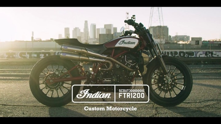 Indian to build FTR1200 street tracker