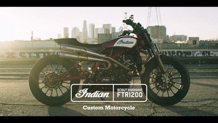 Indian to build FTR1200 street tracker