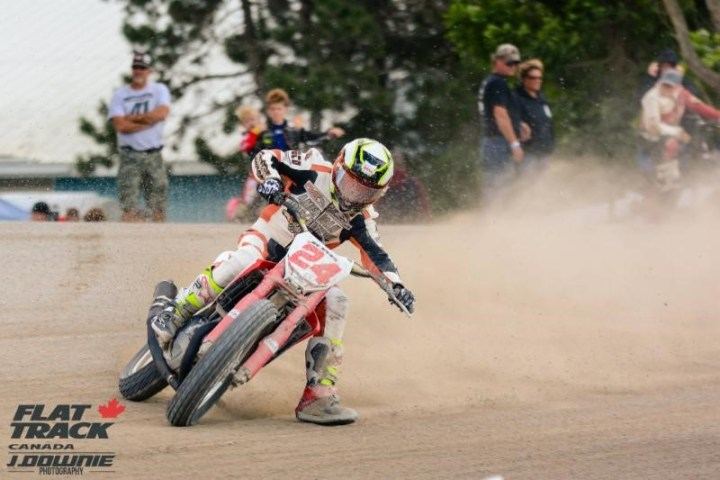 Race listings: Flat Track Canada this weekend