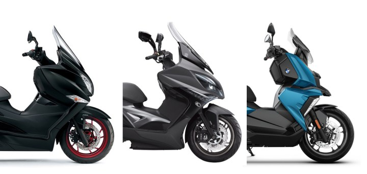Showroom Showdown: Midsized Maxi-Scooters