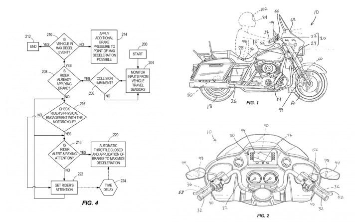 Harley-Davidson working on autonomous braking system