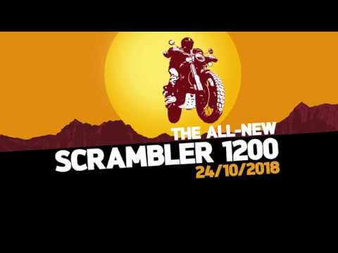 Here's another Triumph Scrambler 1200 teaser