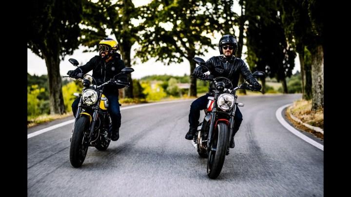 Updated Ducati Scrambler Icon packs cornering ABS