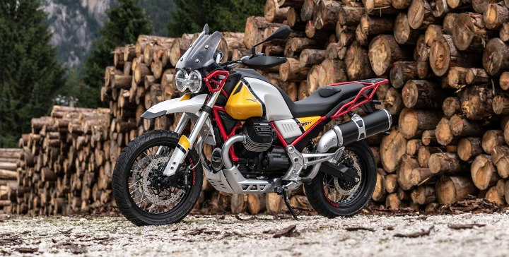 The Moto Guzzi V85 seems to be a certainty