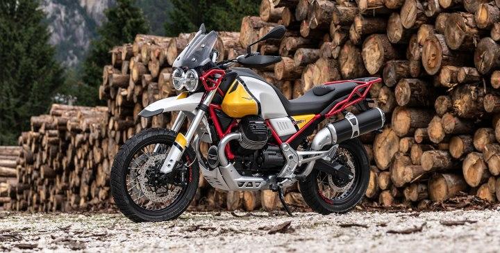 The Moto Guzzi V85 seems to be a certainty