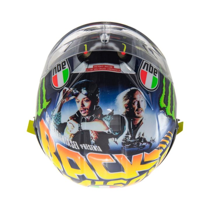 "Valentino Rossi, AGV, head ""Back to Misano"""