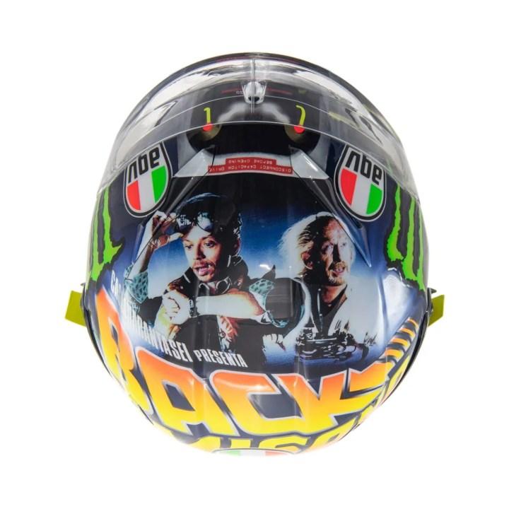 "Valentino Rossi, AGV, head ""Back to Misano"""