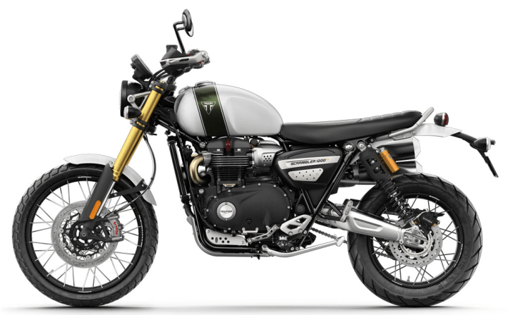 Aaannnd here are your Triumph Scrambler 1200 XC and 1200 XE