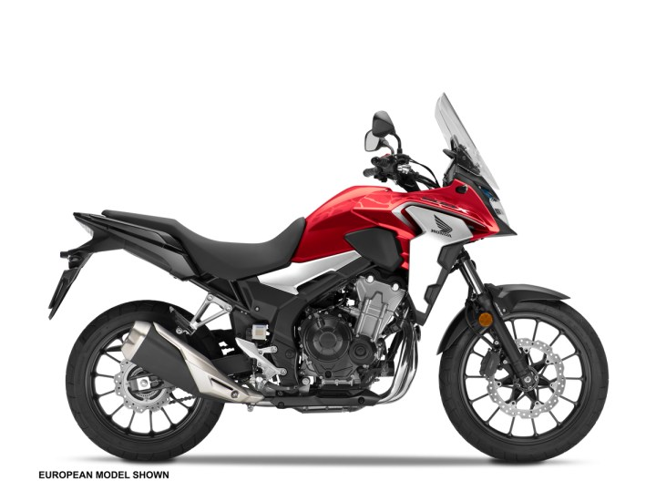 2019 Honda CB500X upgraded for next season