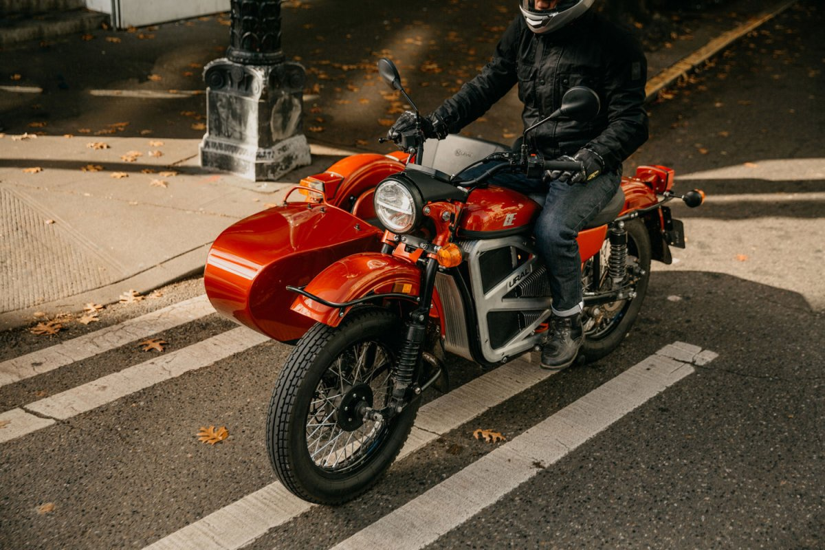 Further signs of the apocalypse: Here's an electric Ural