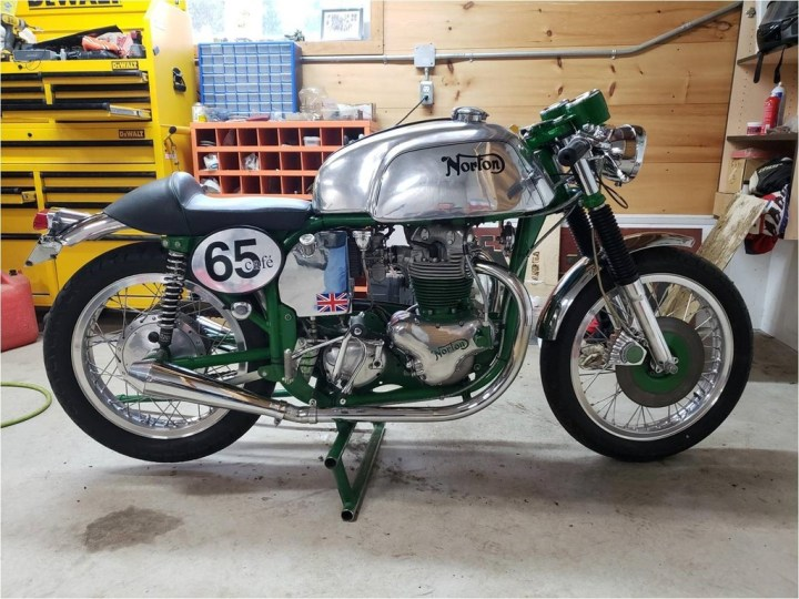 Find of the Month: 1965 Norton Atlas