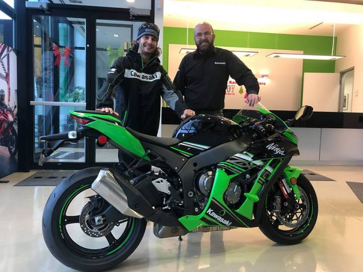 Jordan Szoke switches to Kawasaki for 2019