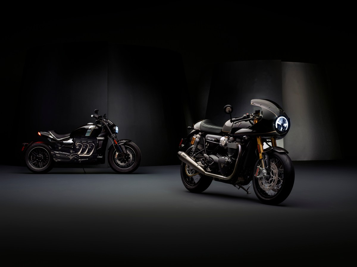 All-new models announced in Triumph Factory Custom line