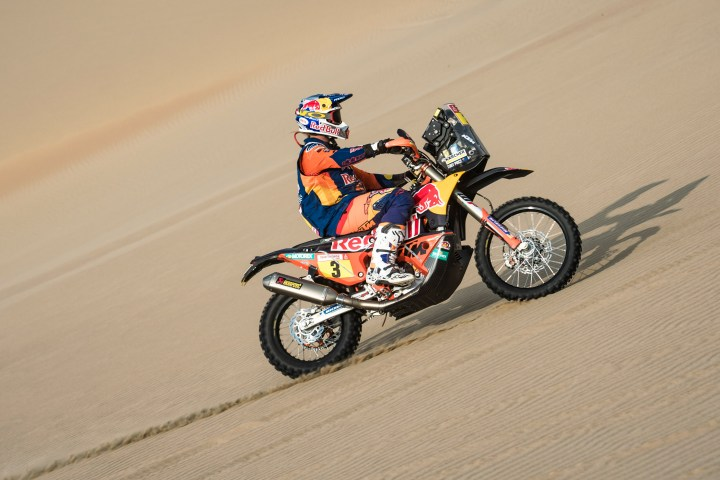 Talking Dakar with Lawrence Hacking