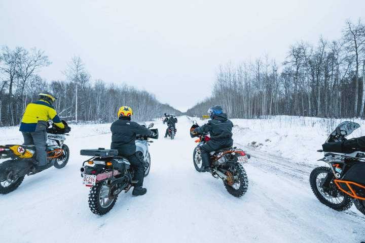 Ride North Moto raises money via ice road