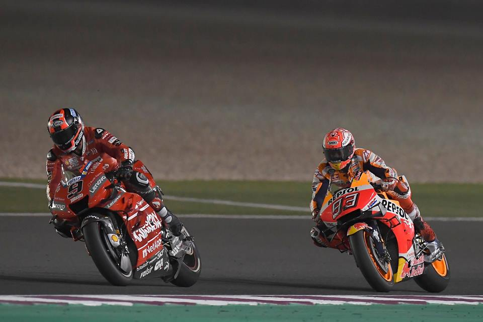 Ducati aerodynamics spark MotoGP protest