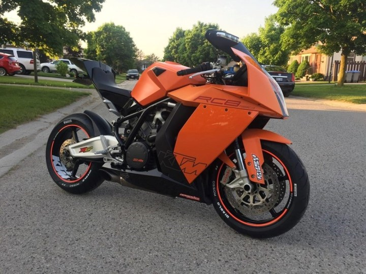 Find Of The Month: 2009 KTM 1190 RC8