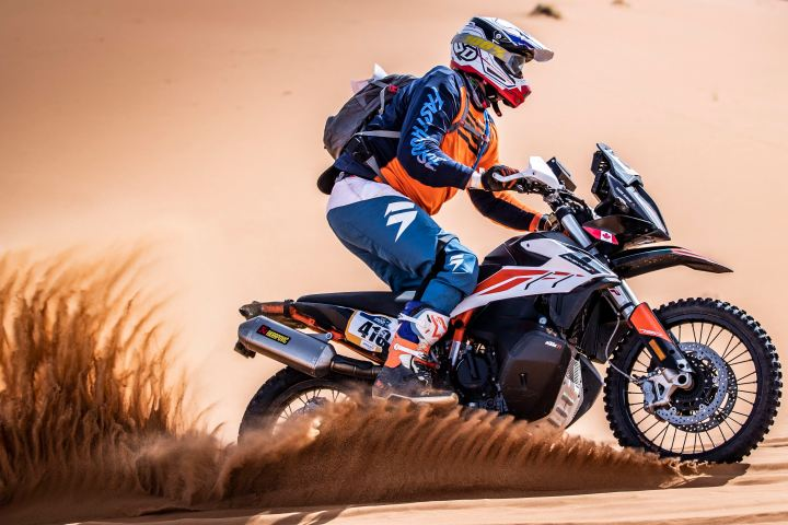 Canadian finishes second in KTM Ultimate Race