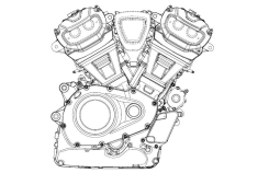 Harley Davidson Engine 3