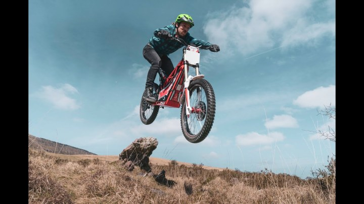Watch: OSET 24.0 electric trials bike