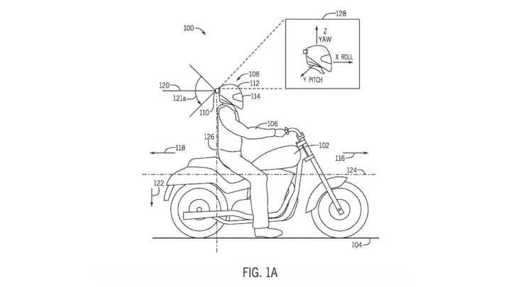 Honda working on a motorcycle helmet with built-in radar