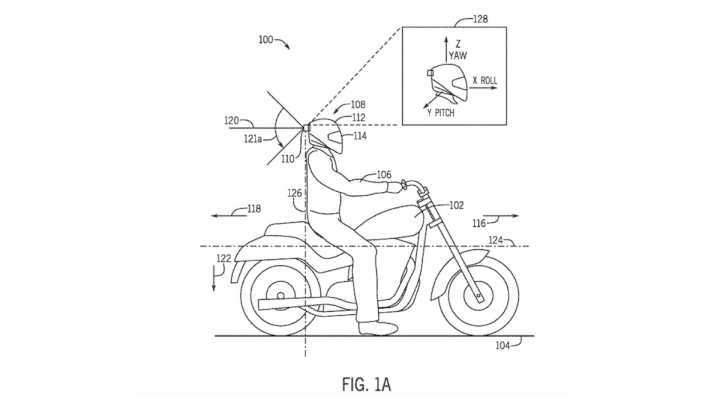 Honda working on a motorcycle helmet with built-in radar